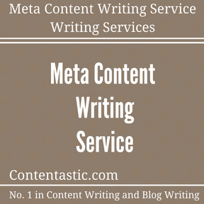 Meta Content Writing Service