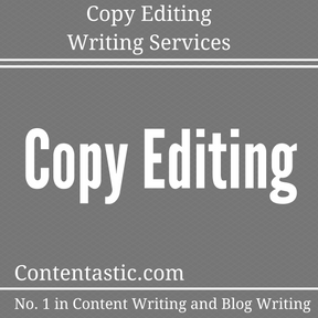 Copy Editing Writing Services