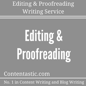 Editing & Proofreading Writing Service