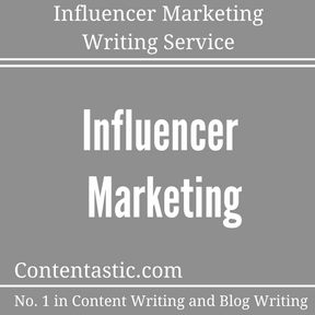 Influencer Marketing Writing Service