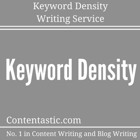 Keyword Density Writing Service