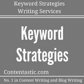 Keyword Strategies Writing Services