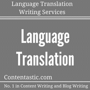 Language Translation Writing Services