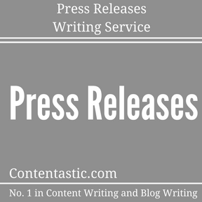 Press Releases Writing Service
