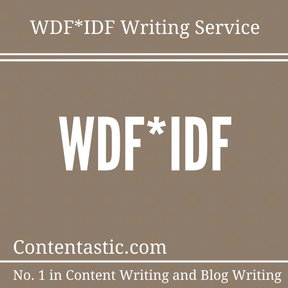 WDF-IDF Writing Service