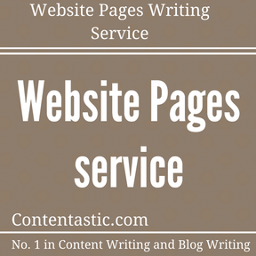 Website Pages Writing Service