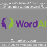 WordAI Manual Article Spinning